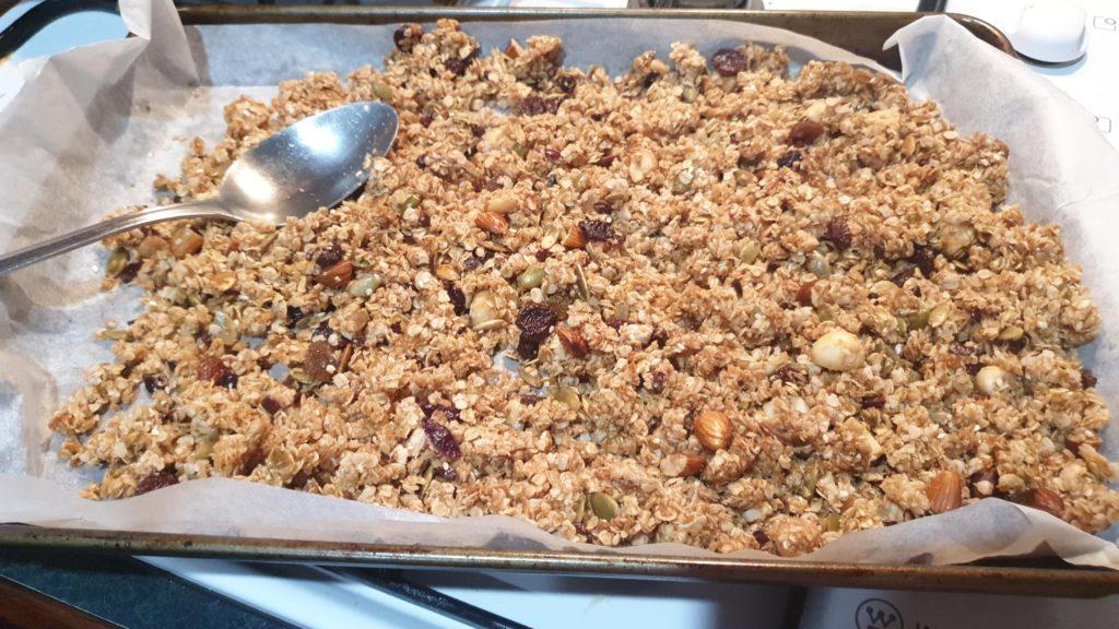 homemade graola